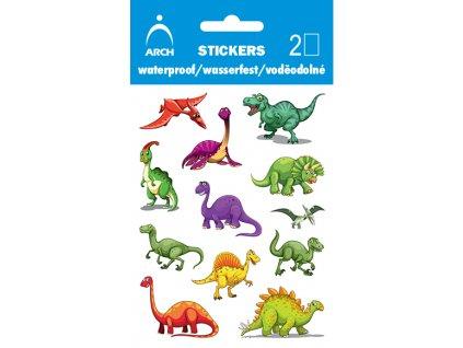 dinosauri samolepky