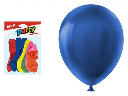 Nafukovací balónky 12ks sáček standard 23cm mix