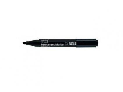 Popisovač permanentní černý 1 - 5mm zkosený MONAMI 121