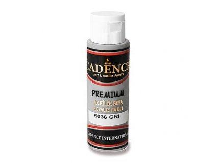Akrylová barva CADENCE Premium, šedá, 70ml