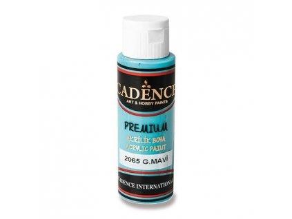 Akrylová barva CADENCE Premium, azurová, 70 ml