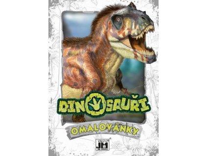 omalovanky a5 dinosauri