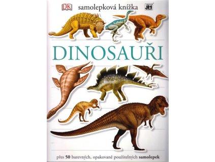 Samolepky knížka Dinosauři