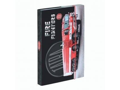 Box na sešity A4 Tatra - hasiči