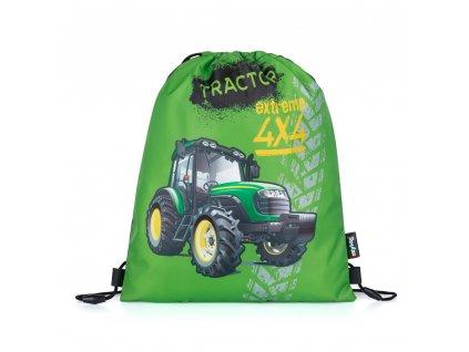Sáček na cvičky traktor