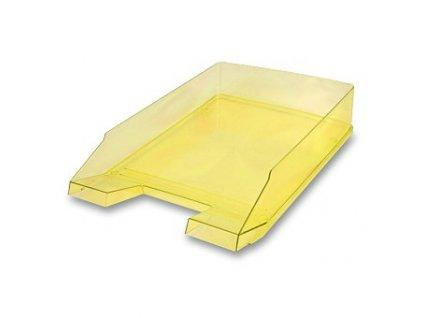 Zásuvka kancelářská HELIT Economy transparent žlutá