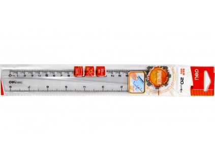 ruler deli 20cm original 5372