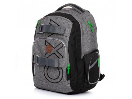 Studentský batoh OXY Style Grey