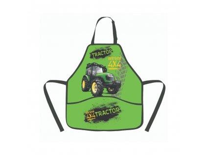Zástěra traktor