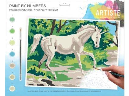 Malování podle čísel DOA 550707 - Jednorožec