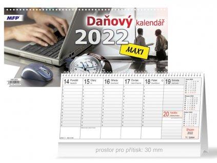 Kalendář 2022 stolní Daňový MAXI