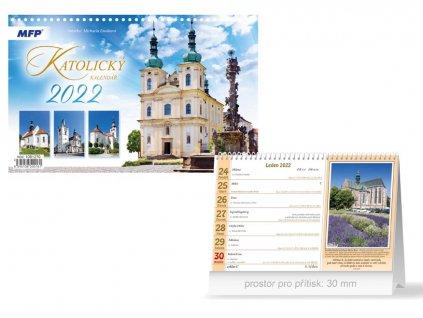 Kalendář 2022 stolní Katolický