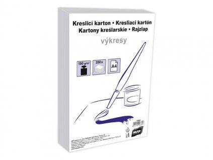 Kreslící karton MFP A4 200 listů 190g