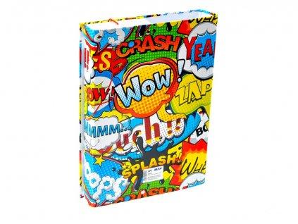 Desky na sešity MFP box A4 Comics