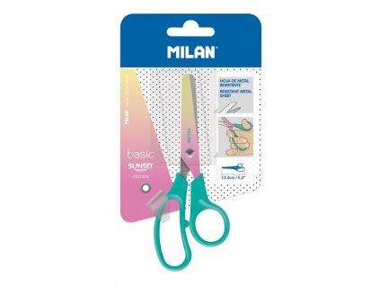 Nůžky Milan 10444T NŮŽKY SUNSET BLISTR