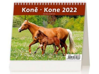 Kalendář 2022 MiniMax Koně/Kone SM14-22