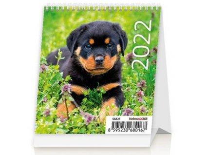 Kalendář 2022 Mini Puppies SM21-22