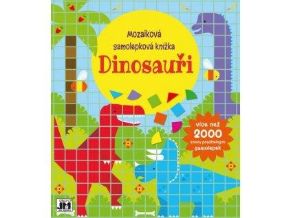 8025 4 dinosauri mozaikovasamolepkovaknizka z1