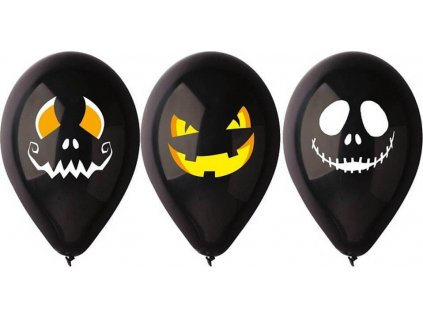 Balónky nafukovací Halloween 3ks
