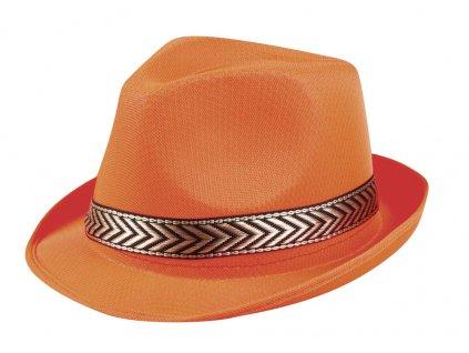 01399 1 oranžový unisex klobouček a