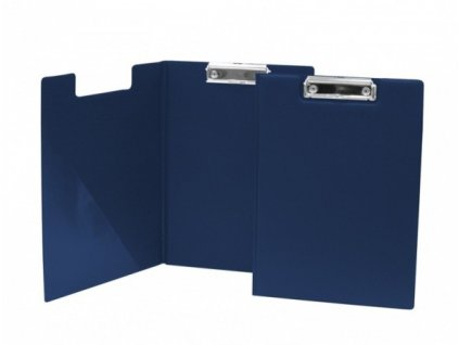 Deska A4 s klipem dvojitá  modrá
