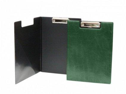 Deska A4 s klipem dvojitá zelená