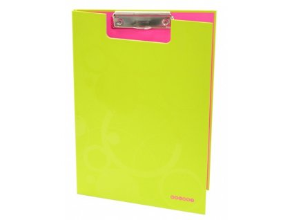 "Deska A4 s klipem dvojtá ""Duo Colori"" zeleno-růžová"