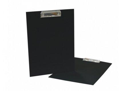 Deska A4 s klipem jednoduchá černá