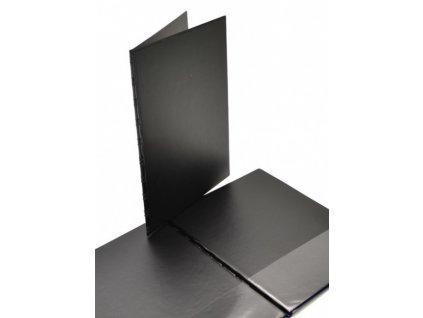 Sloha A4 SPORO spodní kapsa plast - černá