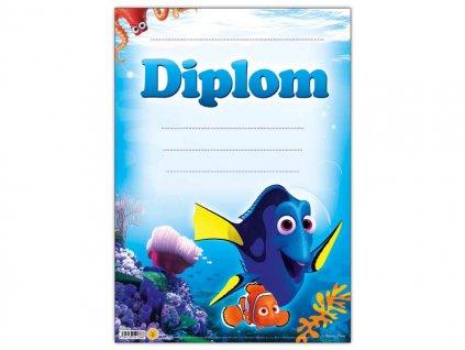 Dětský diplom A4 MFP DIP04-Y12 Disney (Hledá se Dory)