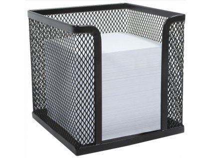 Drátěný stojánek na papírky černý