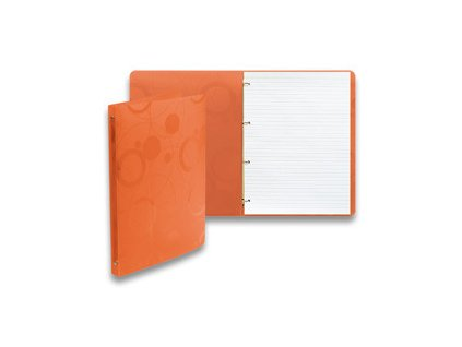 "Karis blok A4 linka ""Neo Colori"" oranžový"