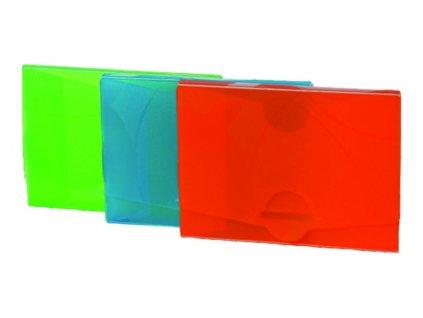 """Krabička na vizitky """"Neo Colori""""  zelená"""