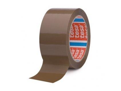 Lepící páska 48 x 66 mm hnědá Tesa