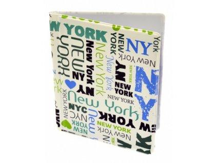 Obal na věrnostní a kreditní karty NY