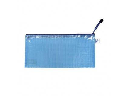 Obálka DL se zipem modrá PP