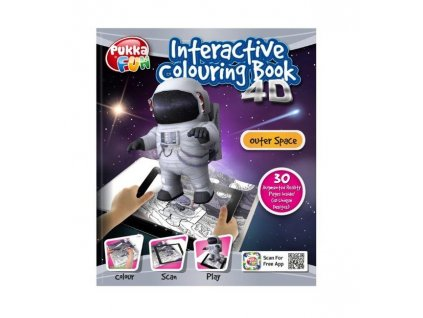 Omalovánka interaktivní 4D Vesmír