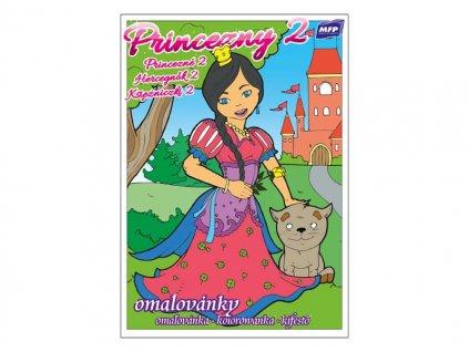 Omalovánky Princezny 2