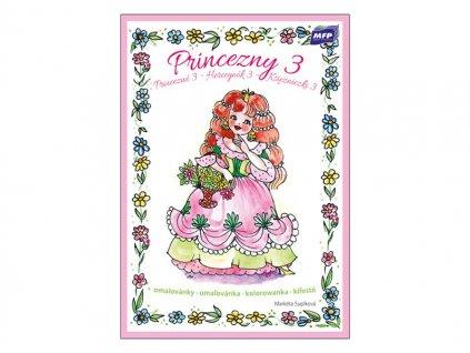 Omalovánky Princezny 3