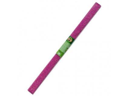 papir krepovy metalicky fialovy