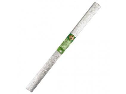papir krepovy metalicky stribrny