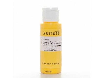 Barva acrylová DO Canary Yellow