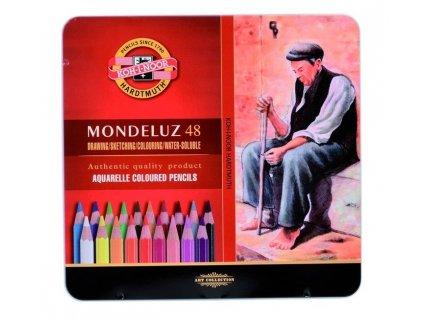 Pastelky Mondeluz 48 ks