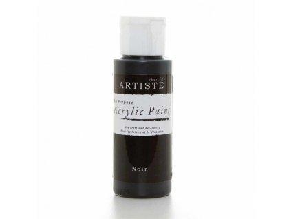 Barva acrylová DO černá