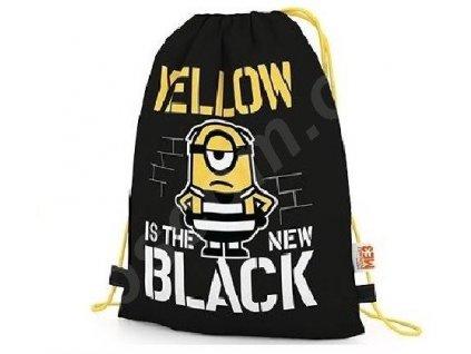 sáček na přezůvky Yellow is the new black