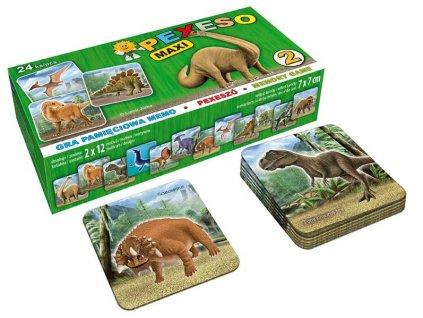 Pexeso LUX 2 - Dinosauři