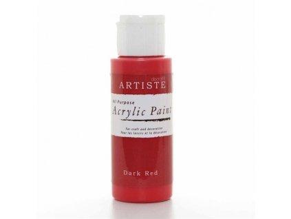 Barva acrylová DO Dark Red