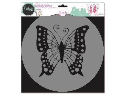 Plastová šablona ALADINE Motýl 28cm