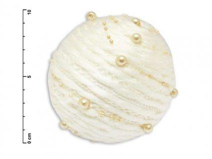 Baňka 10cm bílá