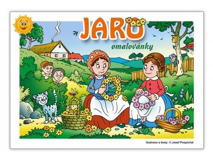 Omalovánky Jaro